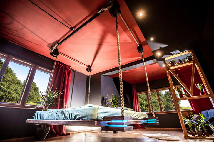 Modern Hanging Bed