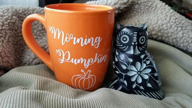 Morning Pumpkin Mug