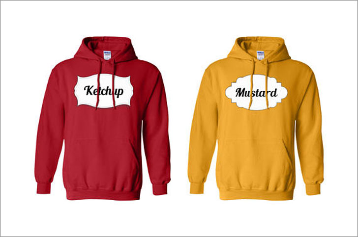 Mustard & Ketchup Hoodies Set