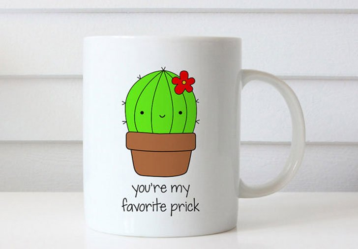 My Favourite Prick Mug - Funny Coffee Mugs