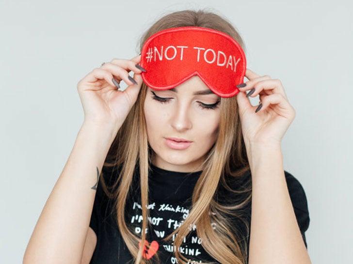 Not Today Eye Masks - Funny Sleeping masks