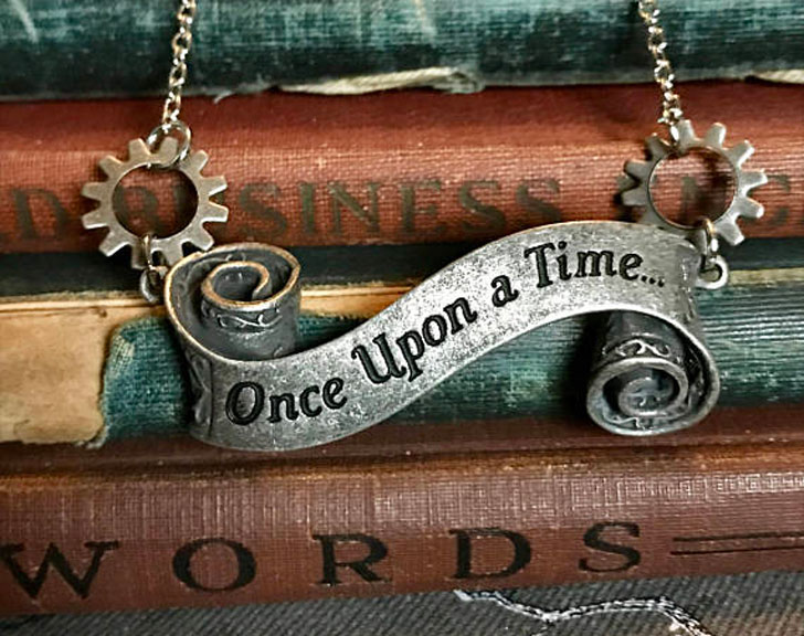 Once Upon A Time Steampunk Style Necklace