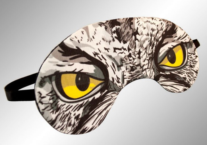 Owl Eyes Sleep Mask