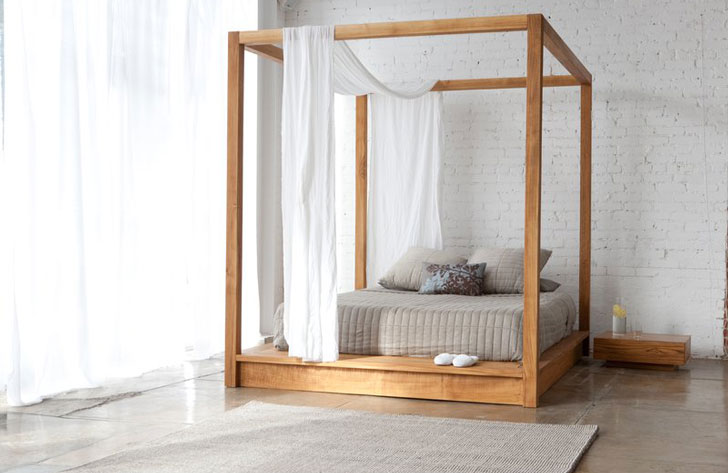 PHC Series Canopy Bed
