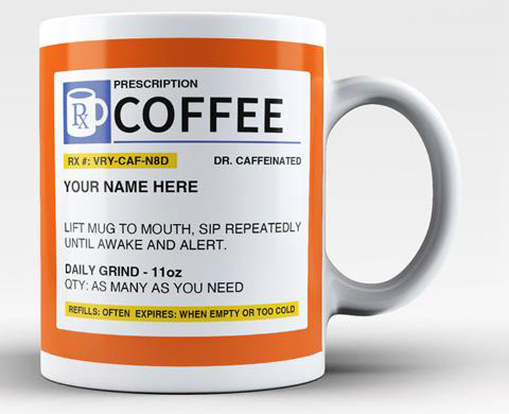 Personalized Prescription Mug