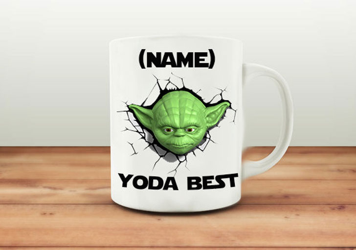 Personalized Yoda Coffee Mugs - Funny Coffee Mugs
