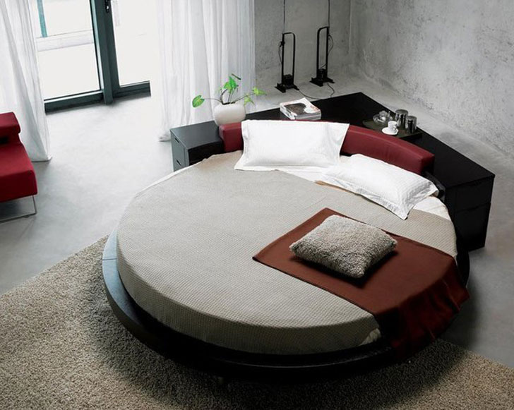 Plato Round Bed - coolest beds