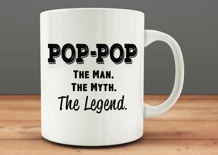 Pop Pop the Legend Mug