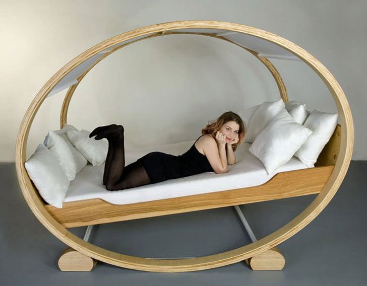 Private Cloud Rocking Bed - coolest beds