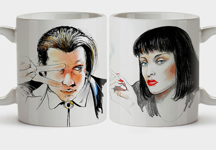 Pulp Fiction Coffee Mug Set