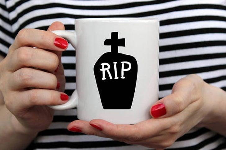 RIP Halloween Mug