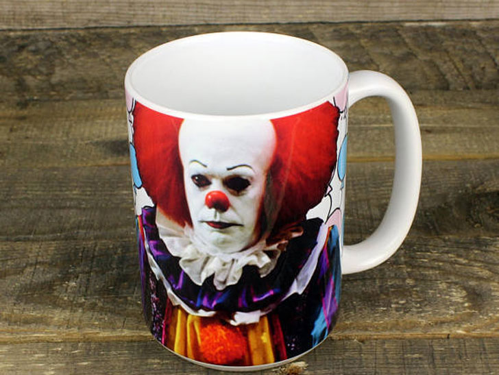 Scary Pennywise IT Clown Mug