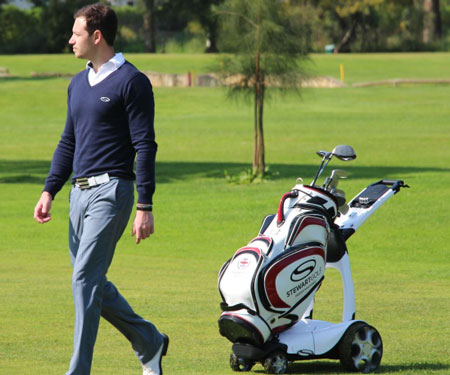Self Following Golf Carts