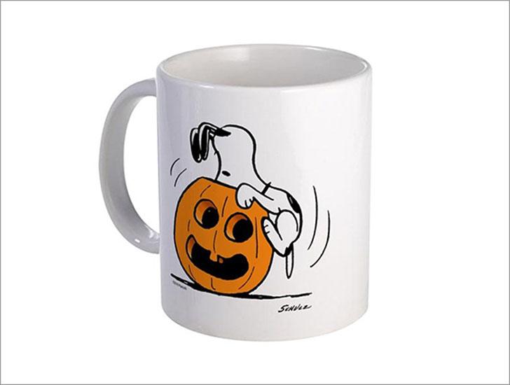 Snoopy Jack O Lantern Mug