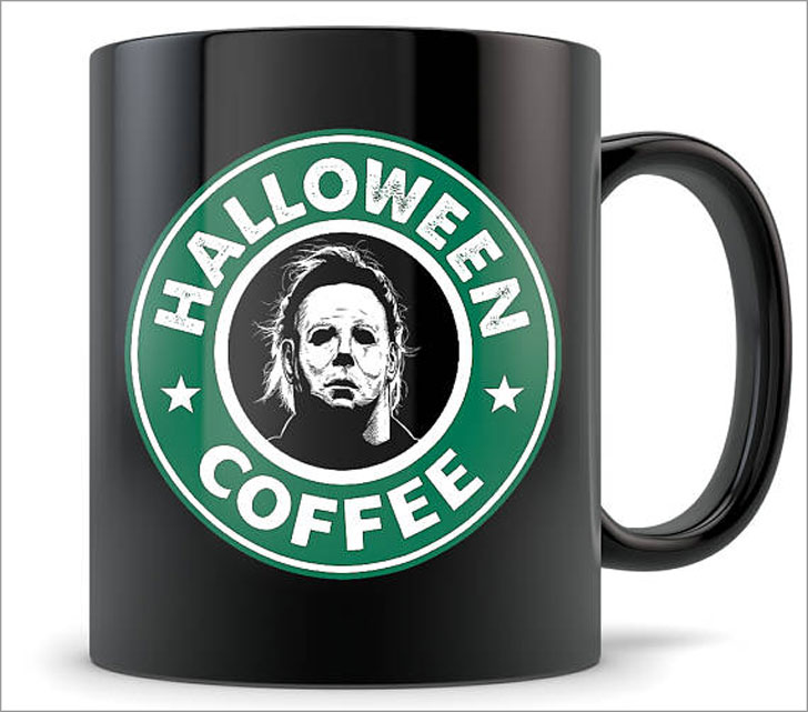 Star Bucks Halloween Mugs