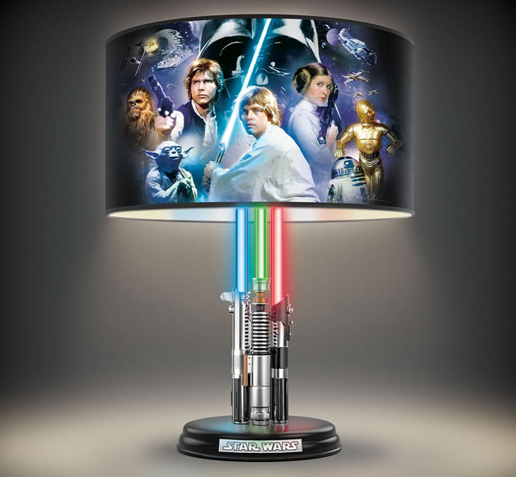 Star Wars Lightsaber Lamp