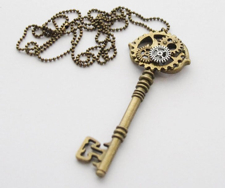 Steampunk Key Necklace