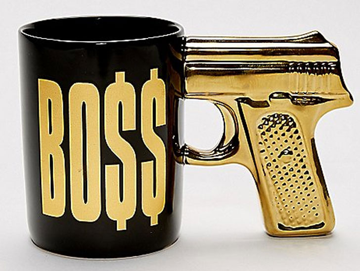 The Boss Coffee Mug