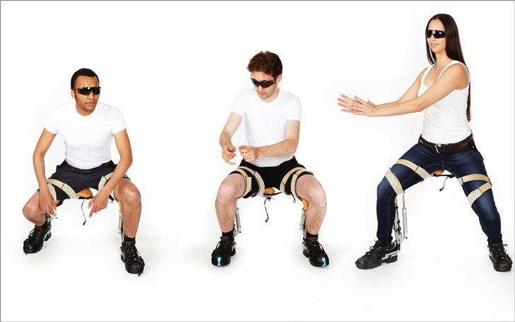 The Chairless Chair