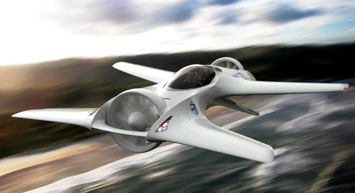 The Delorean DR-7 Flying Car