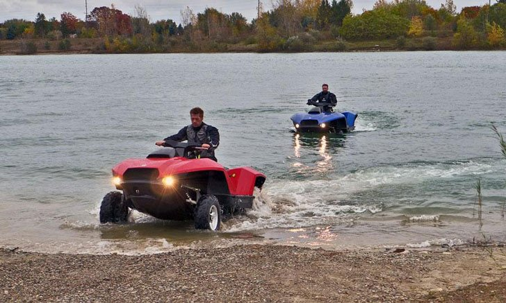 The Quadski Amphibious Quad Jet Ski