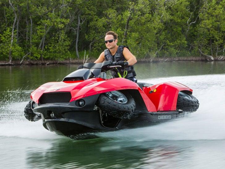 The Quadski Amphibious Quad Jet Ski - Amphibious Vehicles