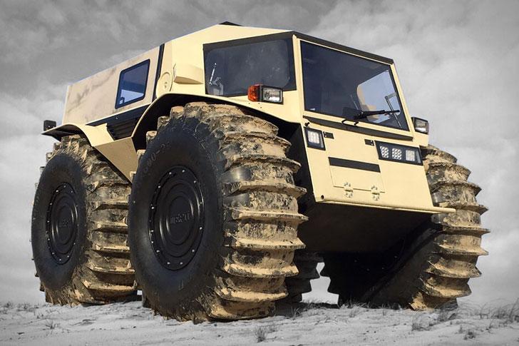The Sherp ATV - Amphibious Vehicles