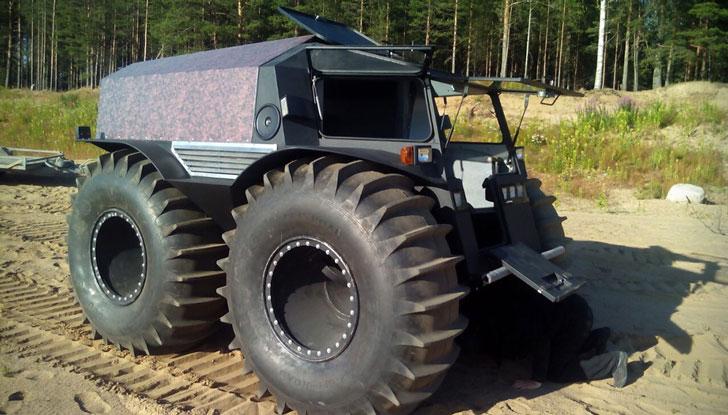The Sherp ATV
