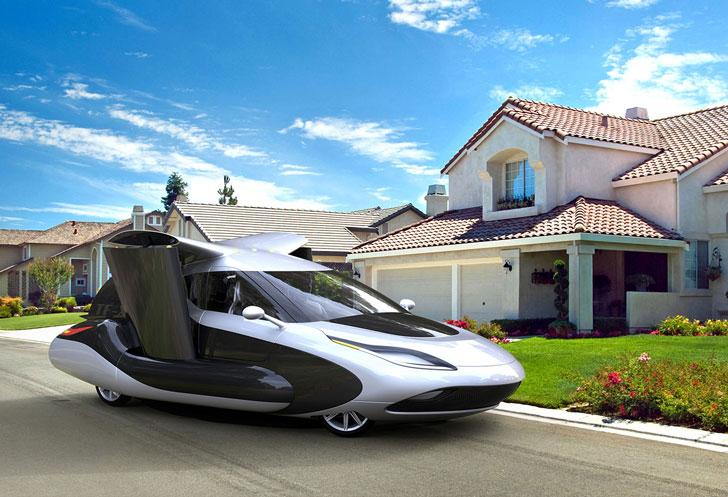 The TF-X Terrafugia Flying Car