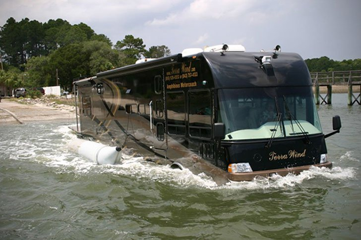The Terra Wind Amphibious RV