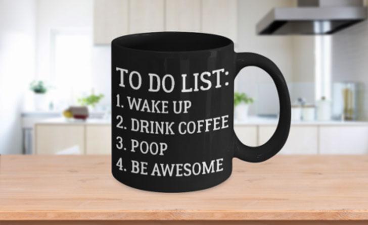 To Do List Coffee Mug