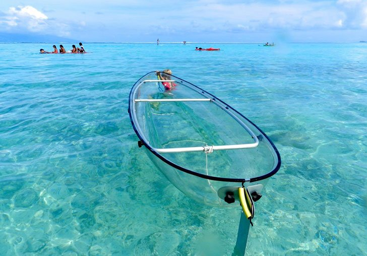 Transparent Kayaks