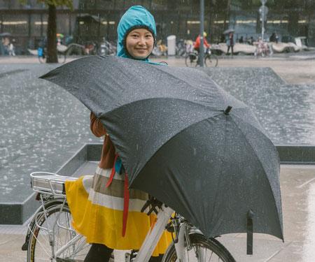 Under-Cover Bike Umbrellas