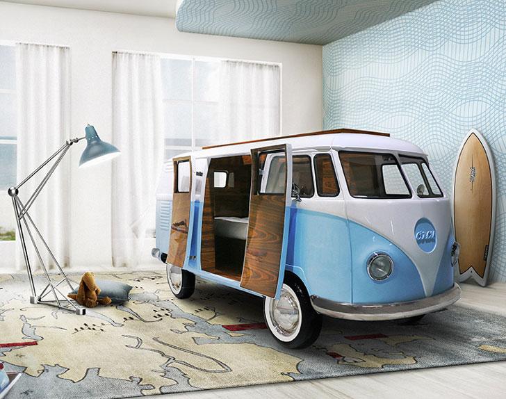 VW Camper Bed