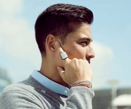 Voice Powered Smart Ring