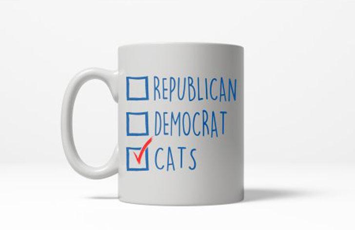Vote Cats Coffee Mug