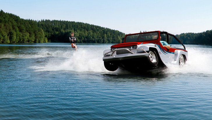 Water Car Panther - Amphibious Vehicles