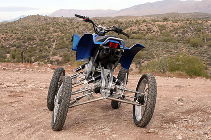 Wesll Leaning Suspension Quad