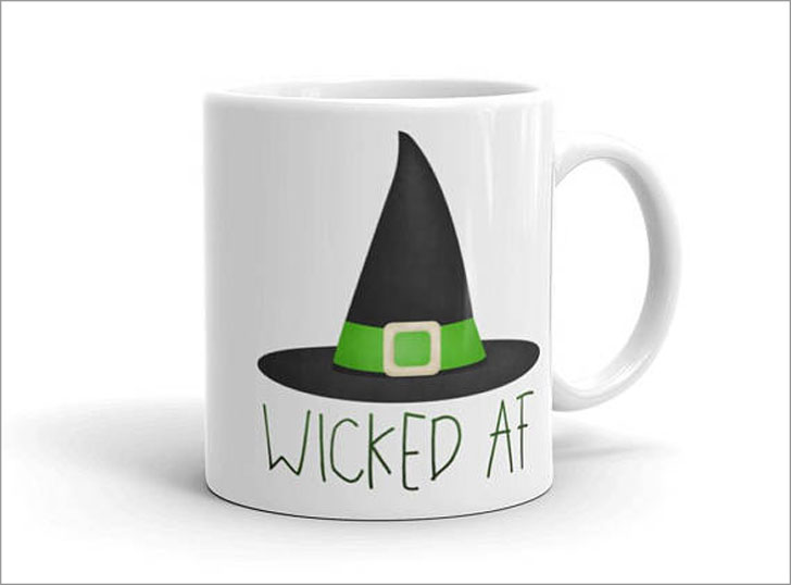 Wicked AF Witch Hat Mug