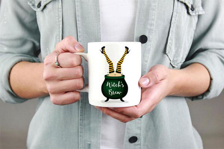 Witch's Brew Coffee Mug