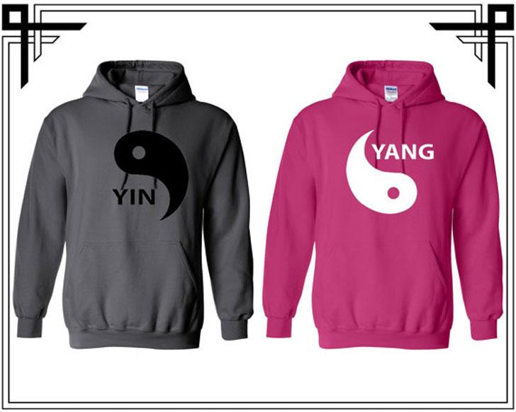 Yin Yang Hoodies