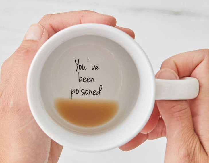 You've Been Poisoned Mug - Funny Coffee Mugs