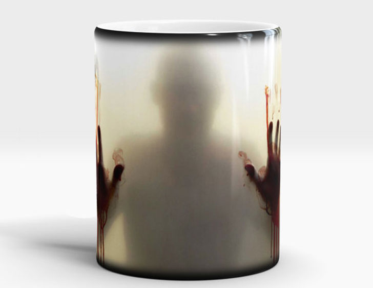Zombie Walking Dead Color Changing Mug