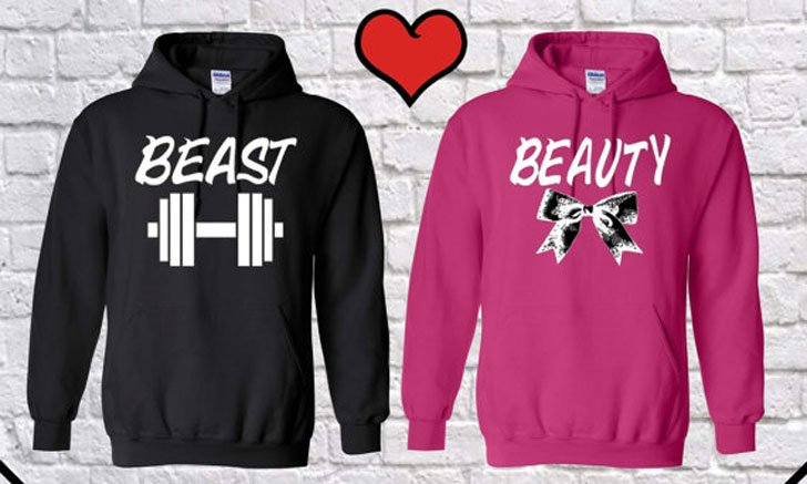 dcce5fc830 30+ Cutest Matching Couples Hoodies (Cute Couples Hoodies)