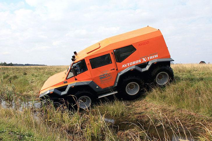 8x8 Shaman ATV