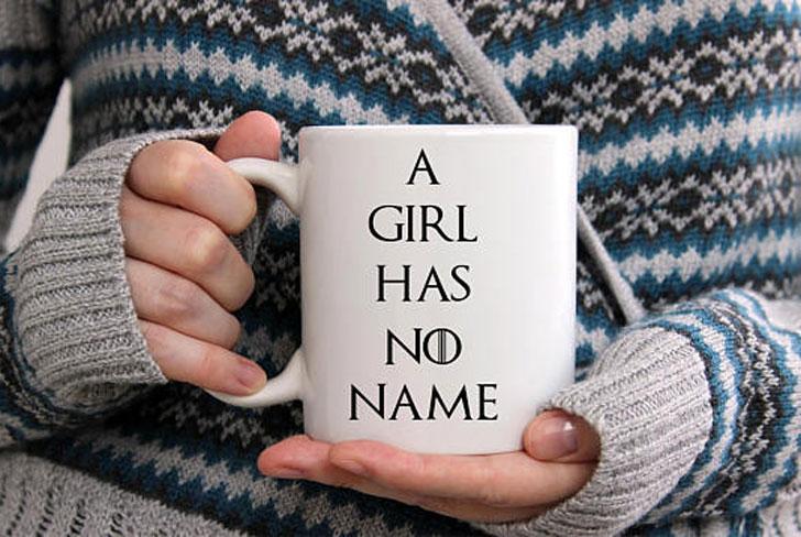 A Girl Has No Name Mug