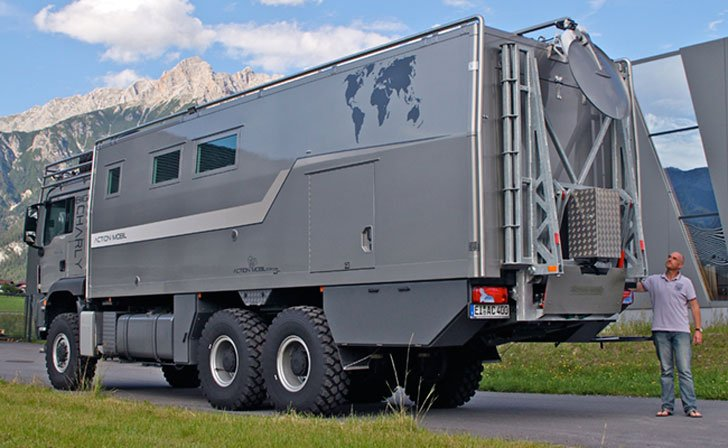 Action Mobil Atacama 7900 Expedition Vehicle - Expedition Vehicles