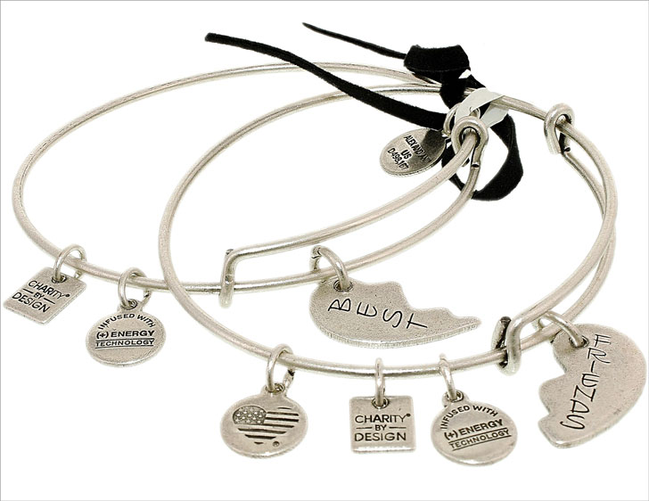 Alex And Ani Best Friends Charm Bracelet