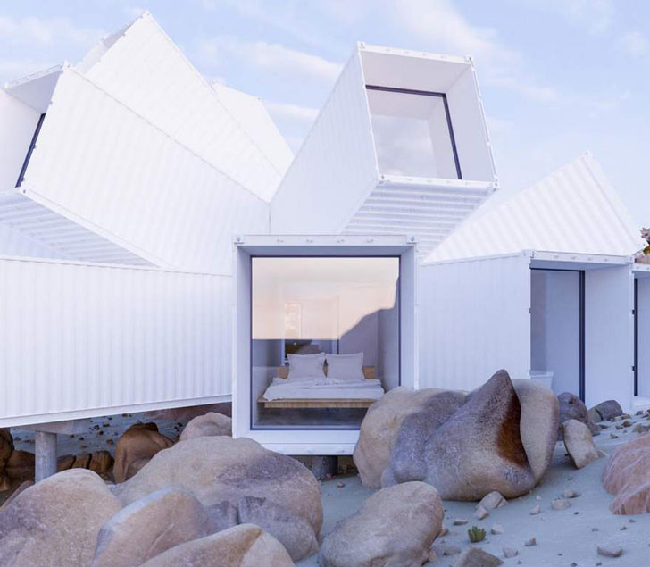 Architectural Shipping Container House