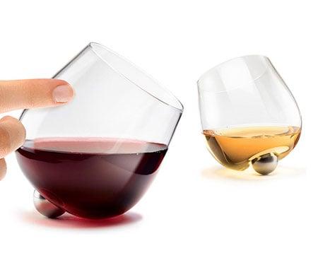 Aura Spinning Wine Glasses
